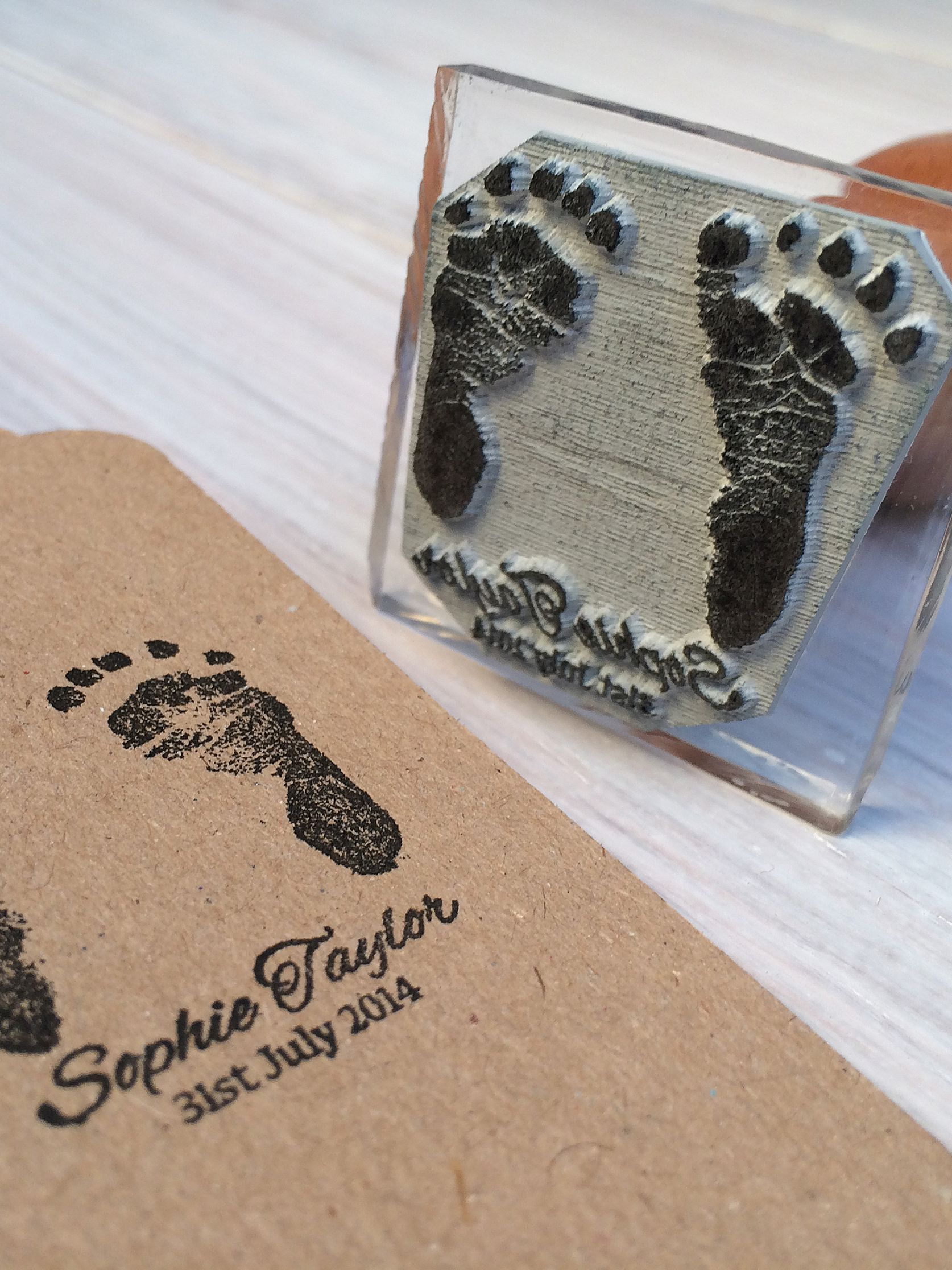 StompStamps StompStamps Personalised Birth Announcement Stamp