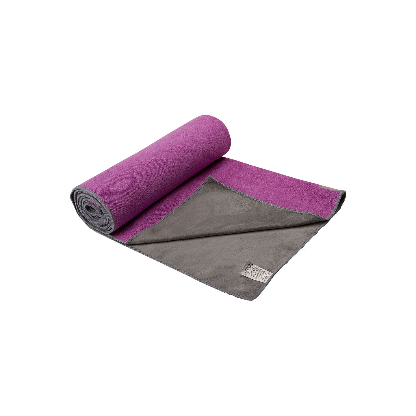 violet mat yoga rubber products towel theomshop folded willow backed yellow