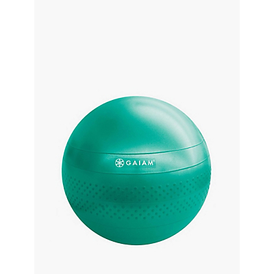 Gaiam 65cm Total Body Balance Ball Kit, Green
