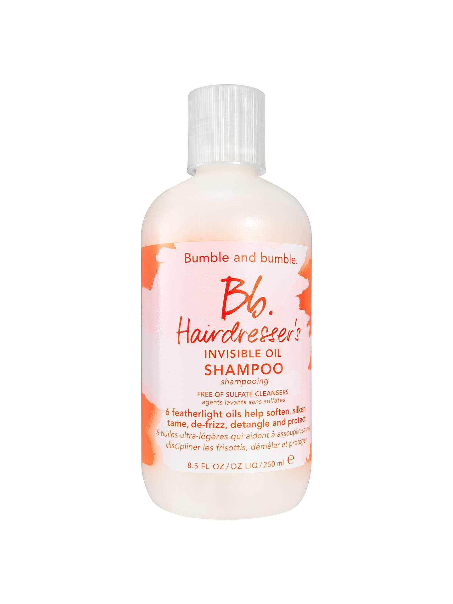 BuyBumble and bumble Hairdressers Invisible Oil Shampoo, 250ml Online at johnlewis.com
