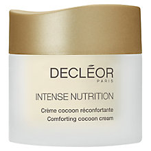 Buy Decléor Intense Nutrition Cocoon Cream, 50ml Online at johnlewis.com