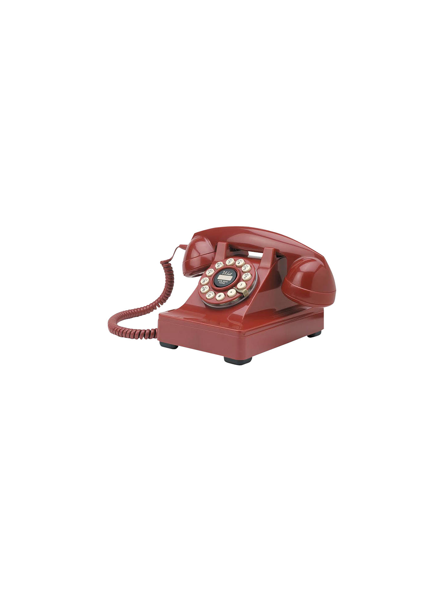 Buy Wild & Wolf Series 302 Corded Phone, Red Online at johnlewis.com