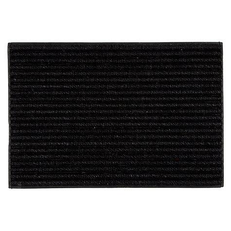 Buy john lewis coir look door mat rug black john lewis - Look buying perfect doormat ...