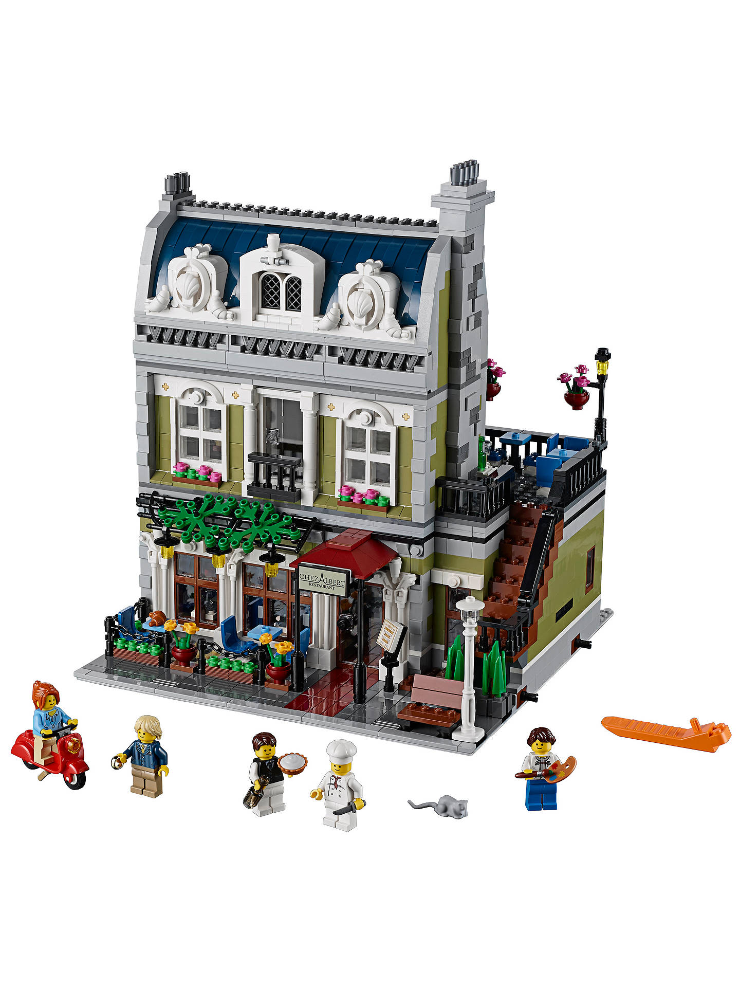 BuyLEGO Creator 10243 Parisian Restaurant Online at johnlewis.com