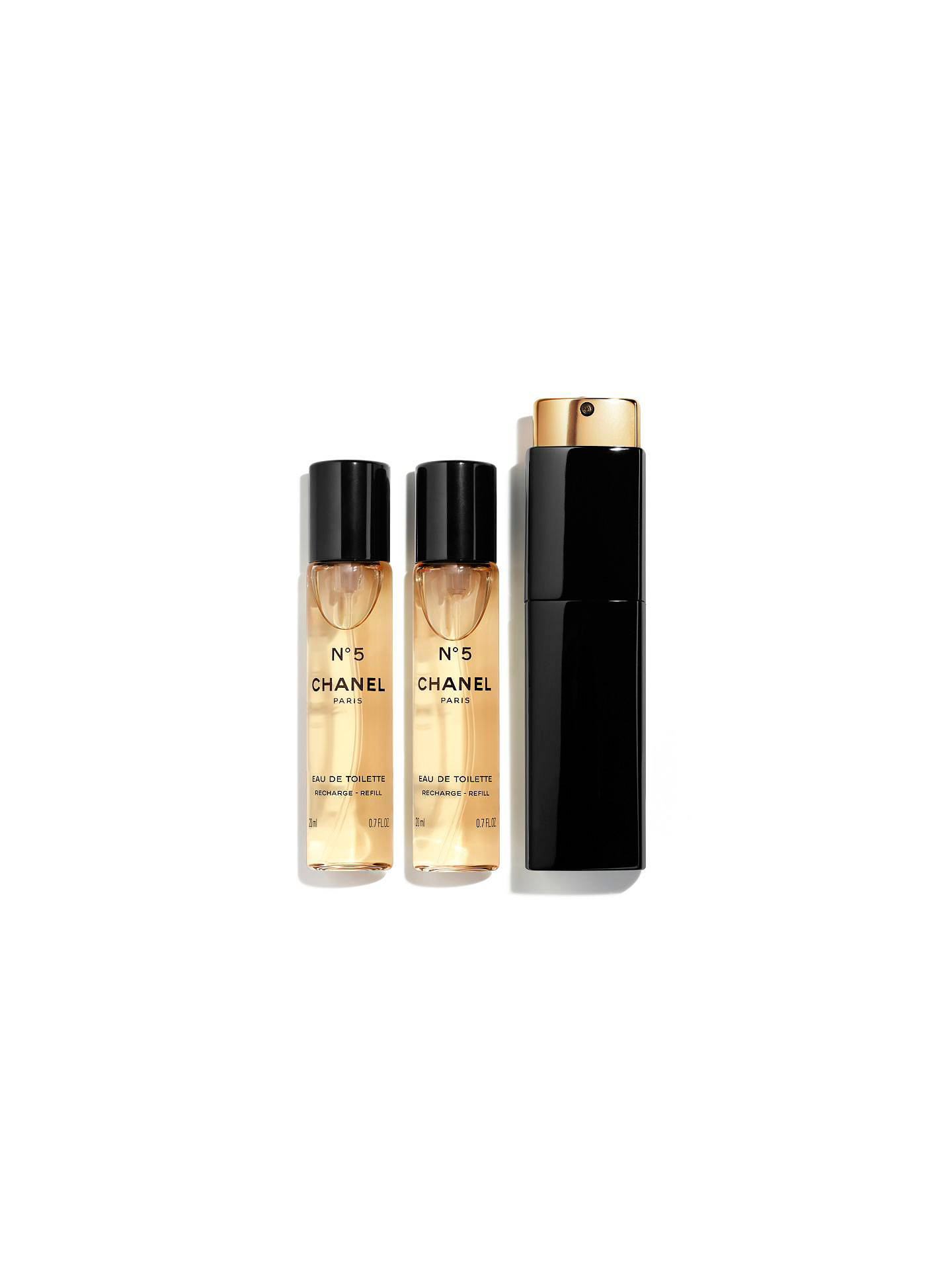 Chanel N 5 Eau De Toilette Purse Spray 3 X 20ml Online At Johnlewis