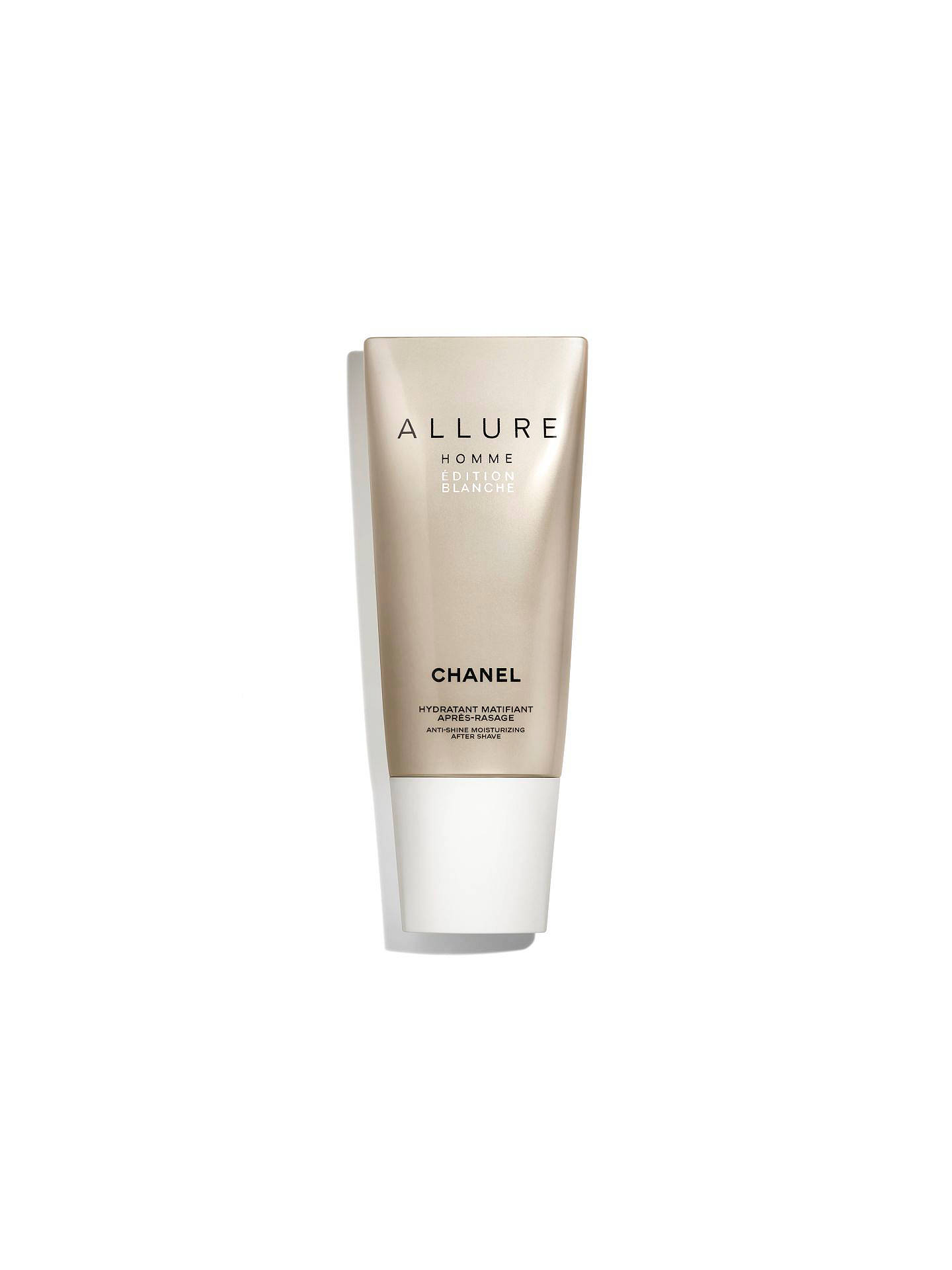 BuyCHANEL ALLURE HOMME ÉDITION BLANCHE Anti-Shine Moisturising After-Shave  Online at johnlewis. d92295ba6041