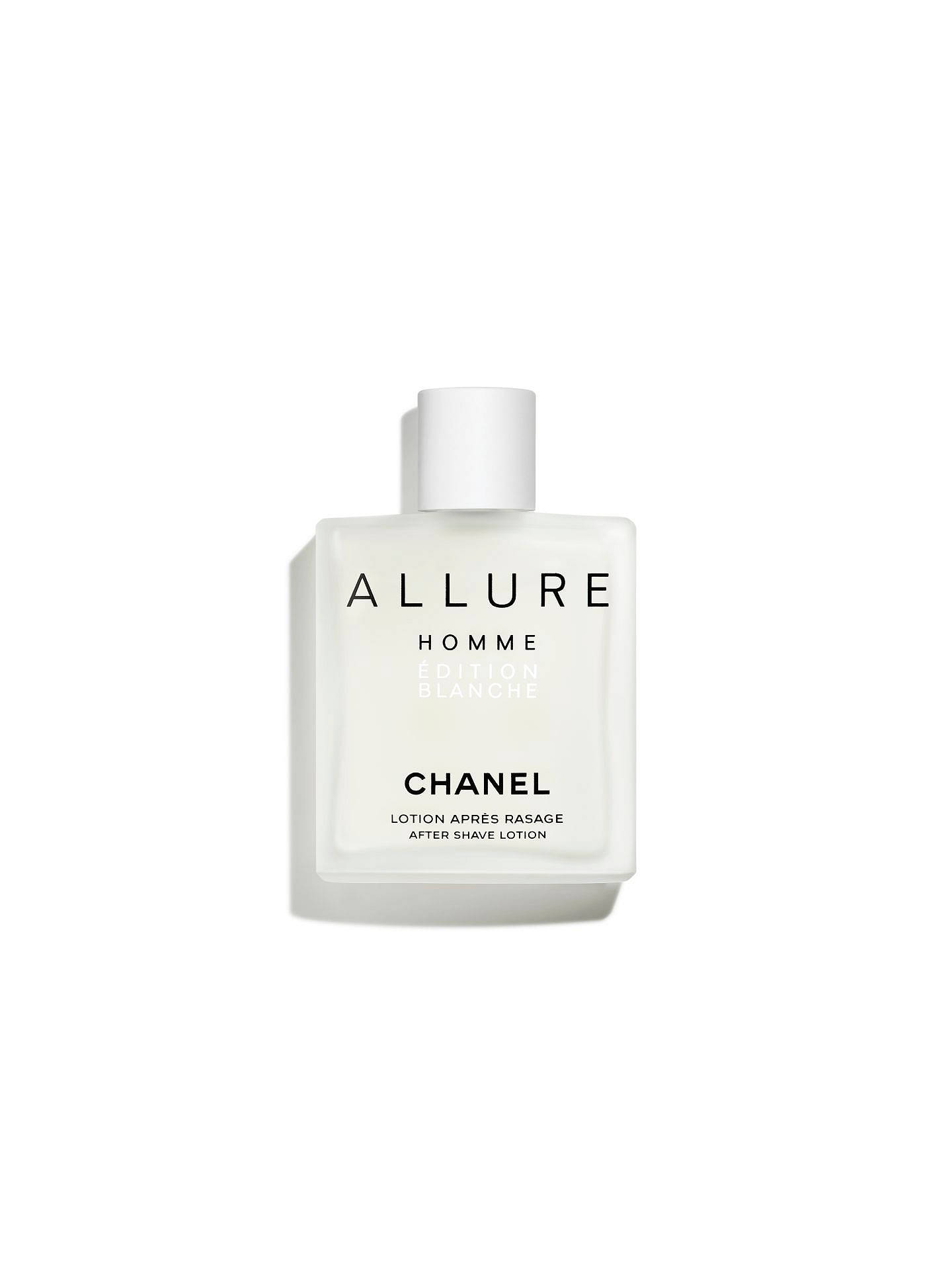 Chanel Allure Homme édition Blanche After Shave Lotion At John Lewis