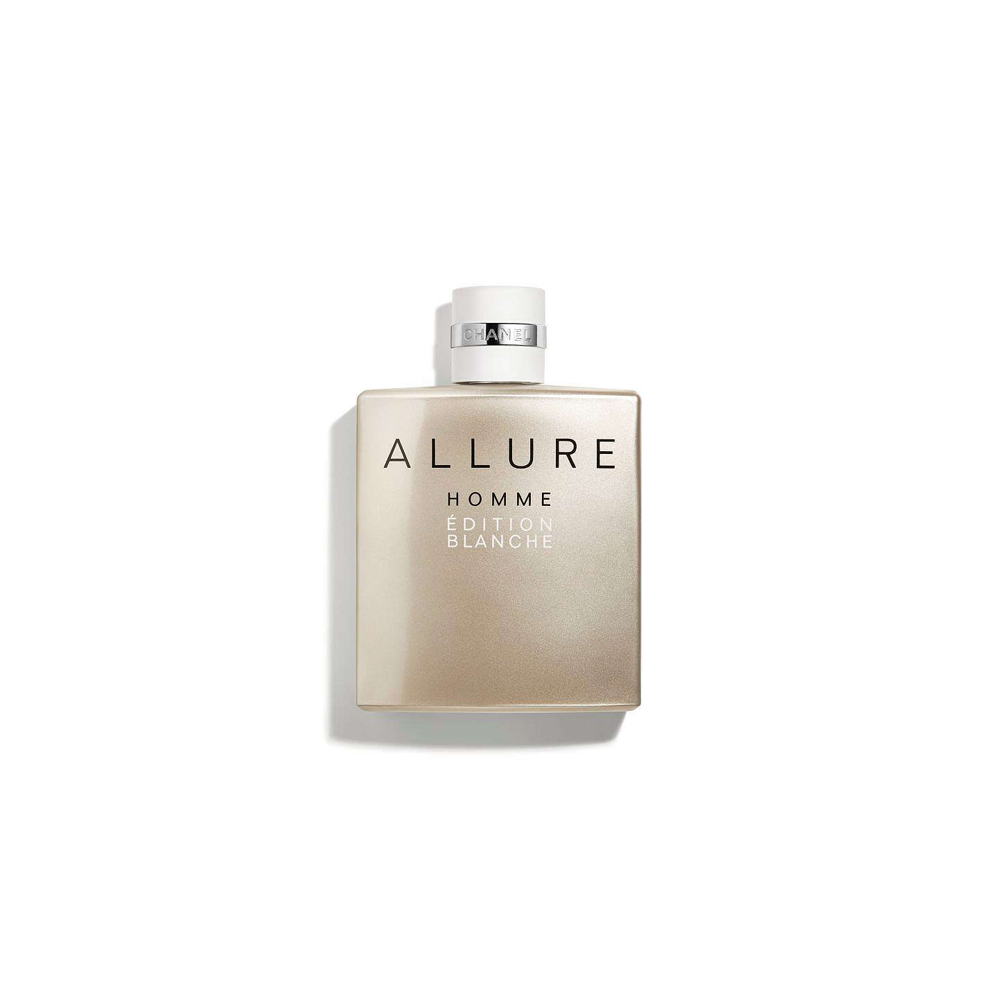 BuyCHANEL ALLURE HOMME ÉDITION BLANCHE Eau de Toilette Concentrée Spray, 50ml Online at johnlewis.com