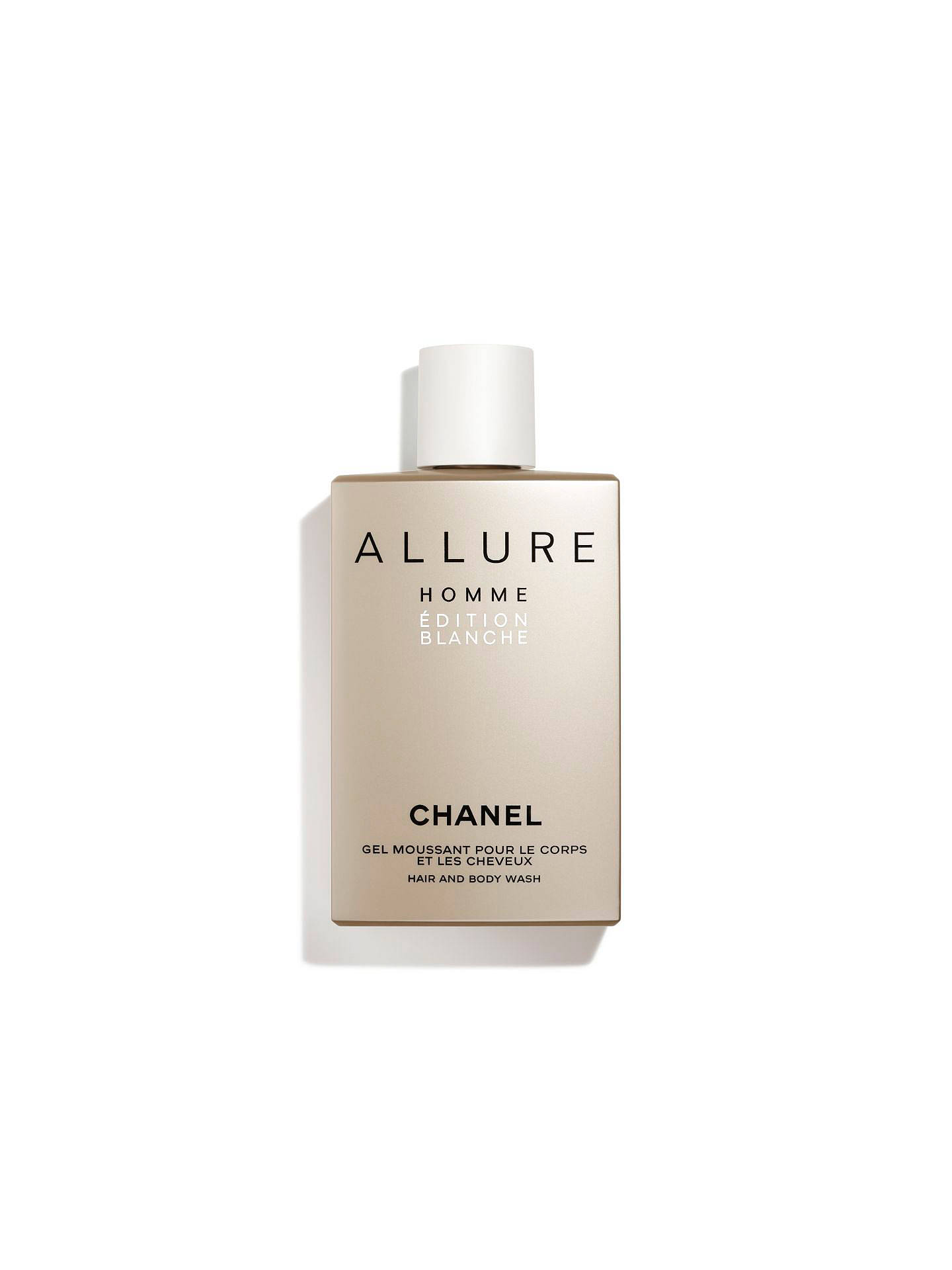BuyCHANEL ALLURE HOMME ÉDITION BLANCHE Hair and Body Wash Online at johnlewis.com