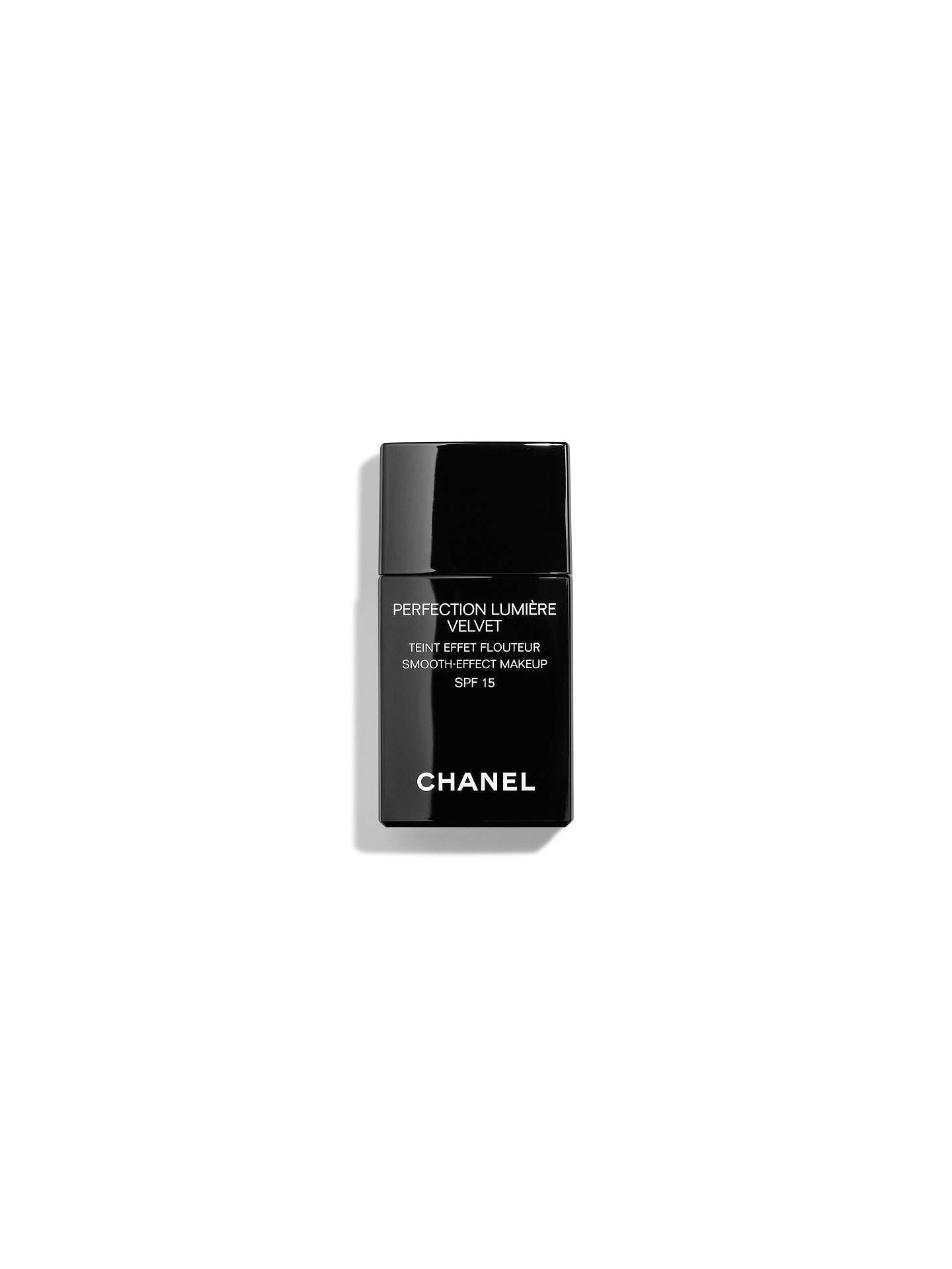 a0f356df33b CHANEL PERFECTION LUMIÈRE Velvet Smooth-Effect Makeup SPF 15 at John ...