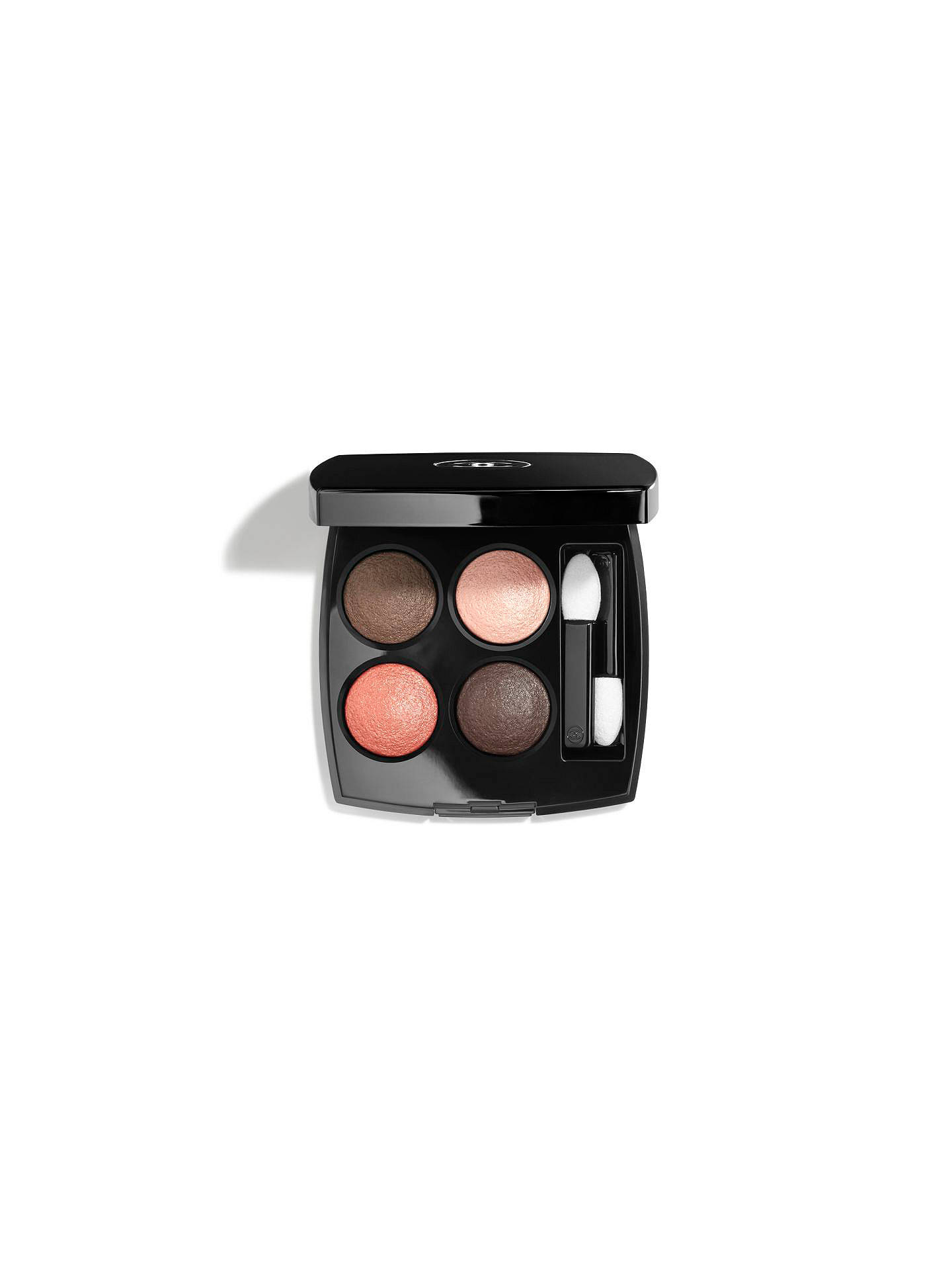 BuyCHANEL LES 4 OMBRES Multi-Effect Quadra Eyeshadow, 204 Tissé Vendôme Online at johnlewis.com
