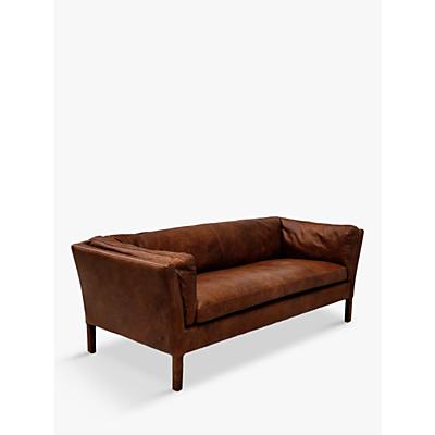 Halo Groucho Medium Aniline Leather Sofa