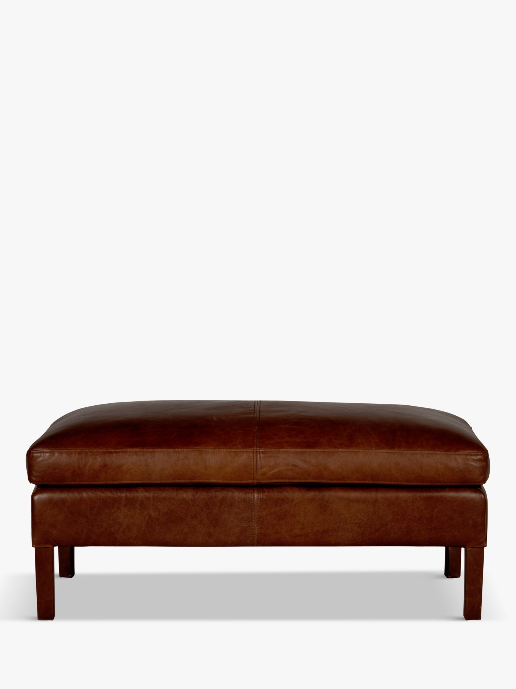 Halo Halo Groucho Leather Footstool
