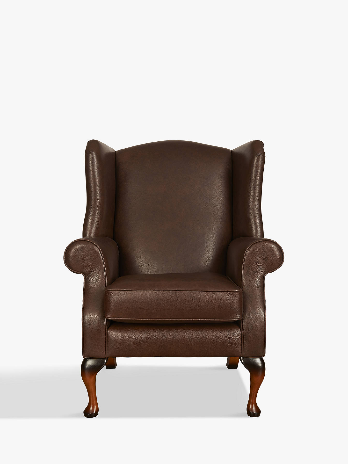 BuyParker Knoll Oberon Leather Chair, Dallas Leather Online at johnlewis.com
