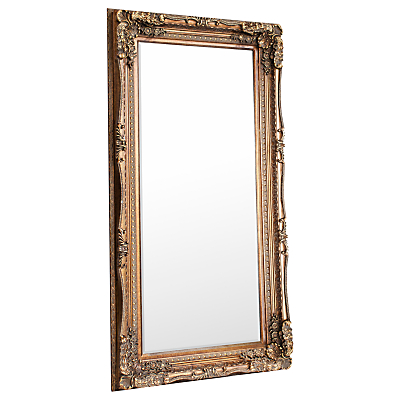 Carved Louis Leaner Mirror, 176 x 89.5cm