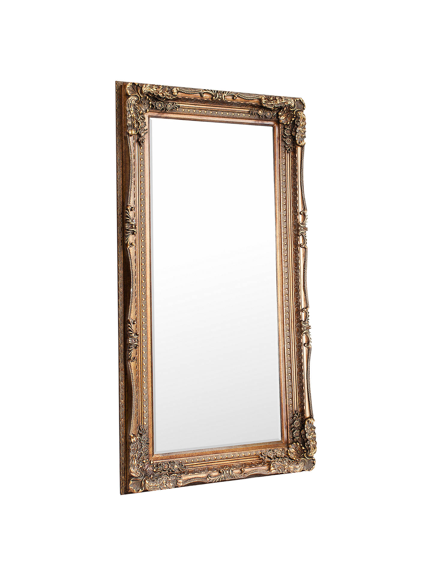 BuyCarved Louis Leaner Mirror, Gold, 176 x 89.5cm Online at johnlewis.com