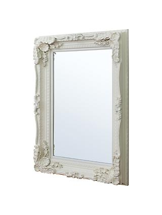 Carved Louis Mirror, Cream, 120 x 89.5cm