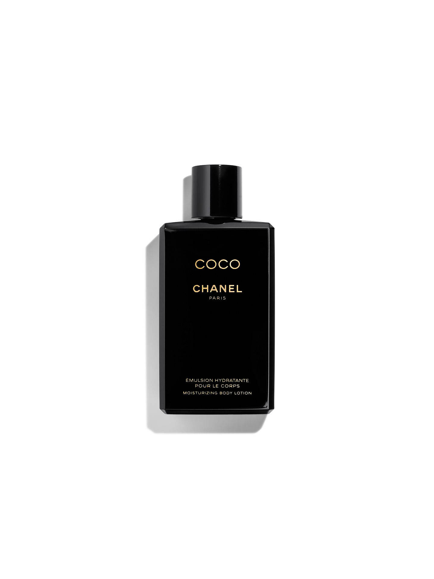 CHANEL COCO Moisturising Body Lotion at John Lewis & Partners