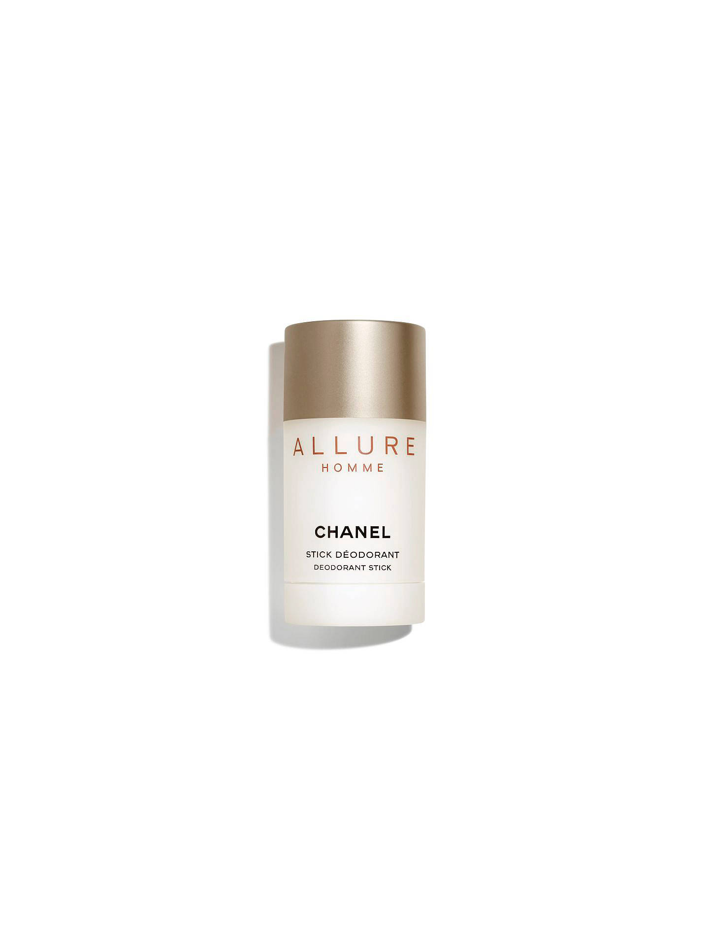Buy CHANEL ALLURE HOMME Deodorant Stick Online at johnlewis.com