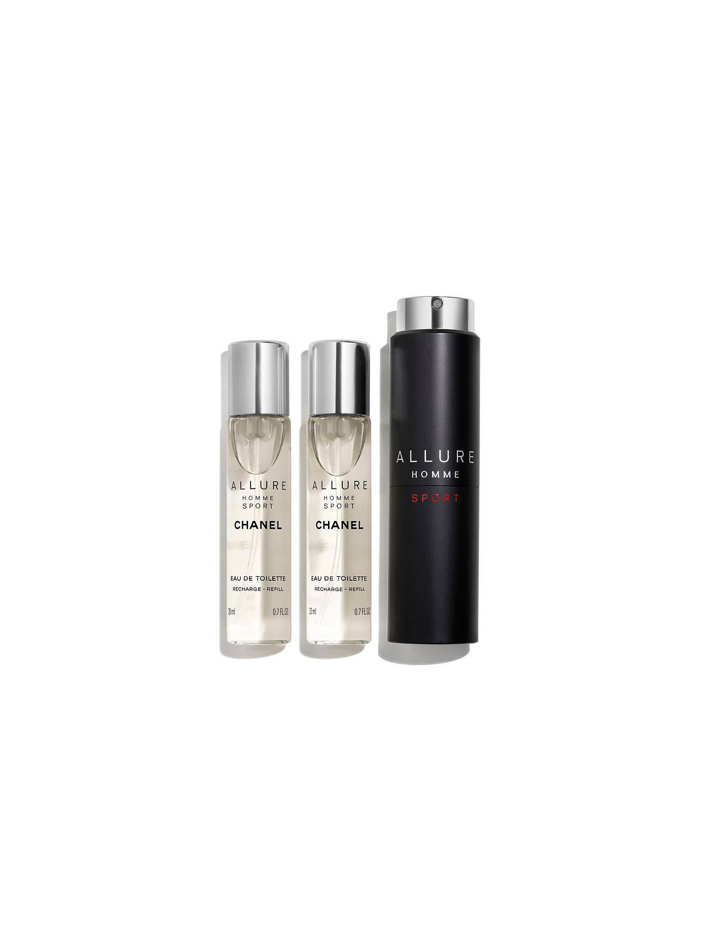 Chanel Allure Homme Sport Eau De Toilette Refillable Travel Spray At