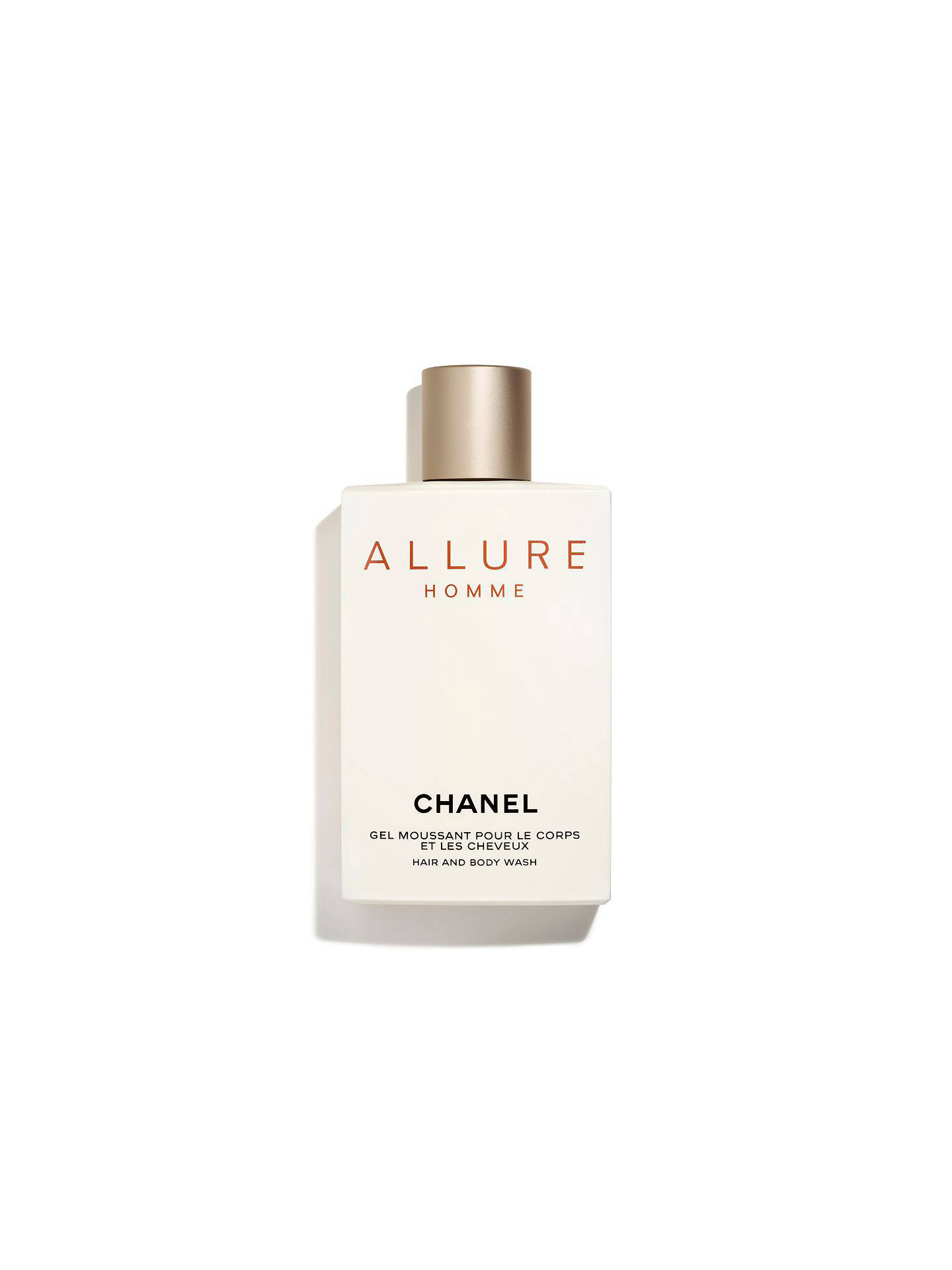 38bed30f7b9d1e BuyCHANEL ALLURE HOMME Hair and Body Wash Online at johnlewis.com