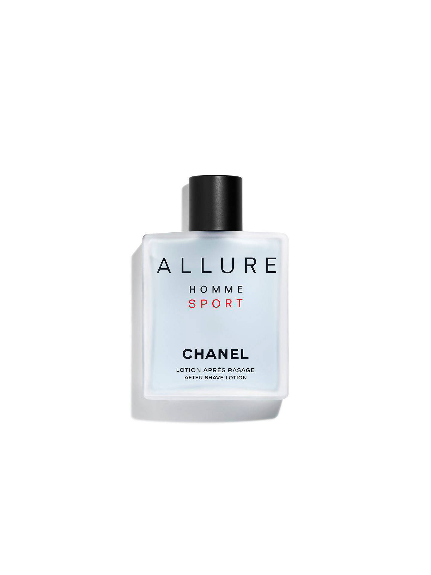 9256963e11e2 Buy CHANEL ALLURE HOMME SPORT After-Shave Lotion, 100ml Online at  johnlewis.com