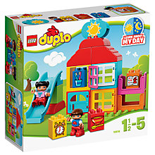 Buy LEGO DUPLO 10616 My First Playhouse Online at johnlewis.com