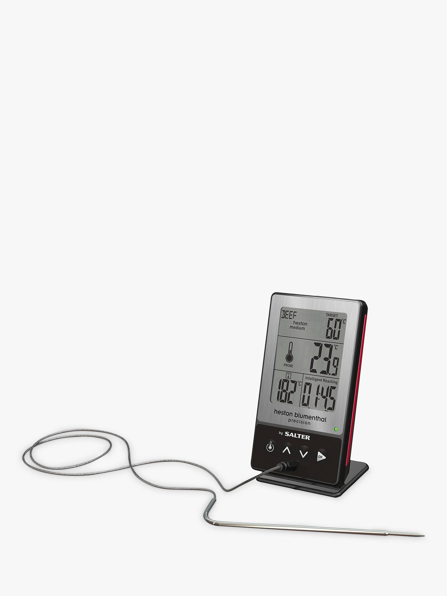 BuyHeston Blumenthal by Salter 5 in 1 Digital Thermometer Online at johnlewis.com
