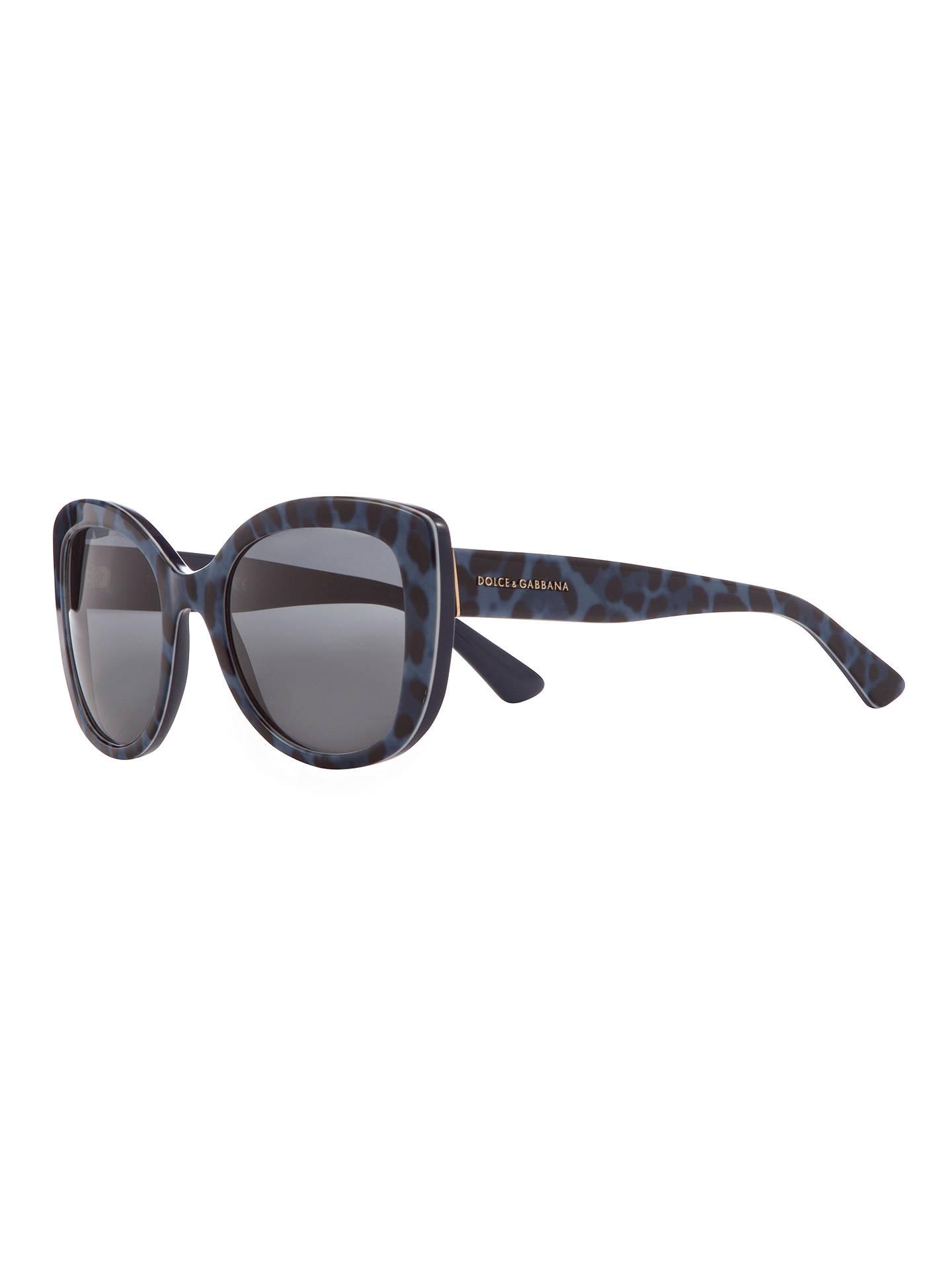a21acbb9568f Buy Dolce & Gabbana DG4233 Cat Eye Sunglasses, Leo Blue Online at  johnlewis. ...