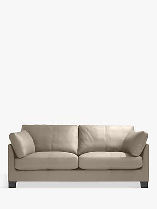 John Lewis & Partners Ikon Medium 2 Seater Sofa, Dark Leg, Nature Putty
