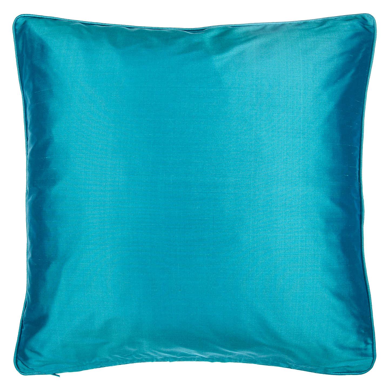 john lewis silk cushion dark spruce at john lewis. Black Bedroom Furniture Sets. Home Design Ideas