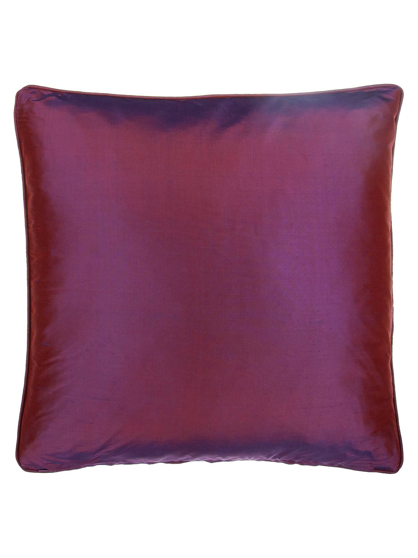 john lewis silk cushion fig at john lewis partners. Black Bedroom Furniture Sets. Home Design Ideas