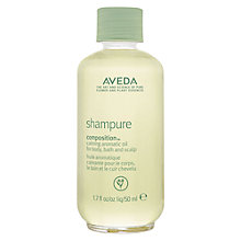 Buy AVEDA Shampure Composition™ Aromatic Calming Oil, 50ml Online at johnlewis.com
