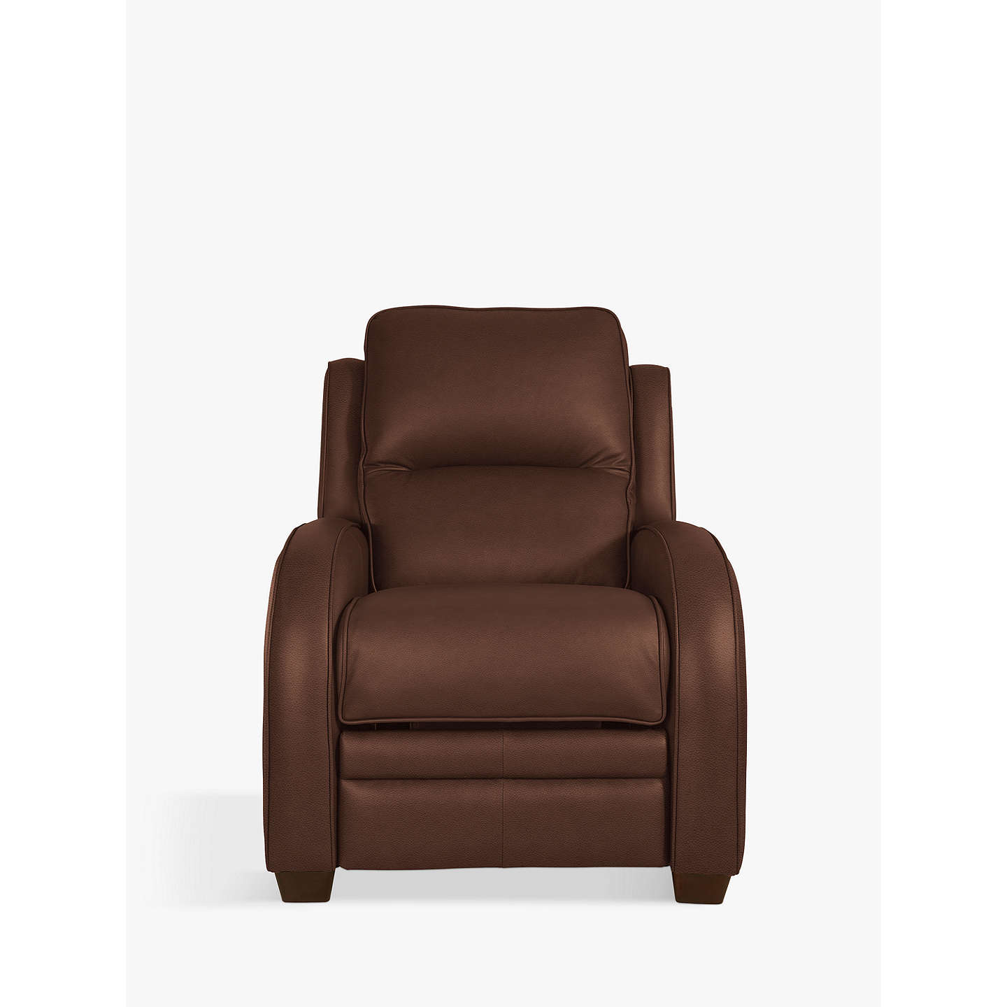 BuyParker Knoll Charleston Power Recliner Leather Armchair, Como Oak Online at johnlewis.com