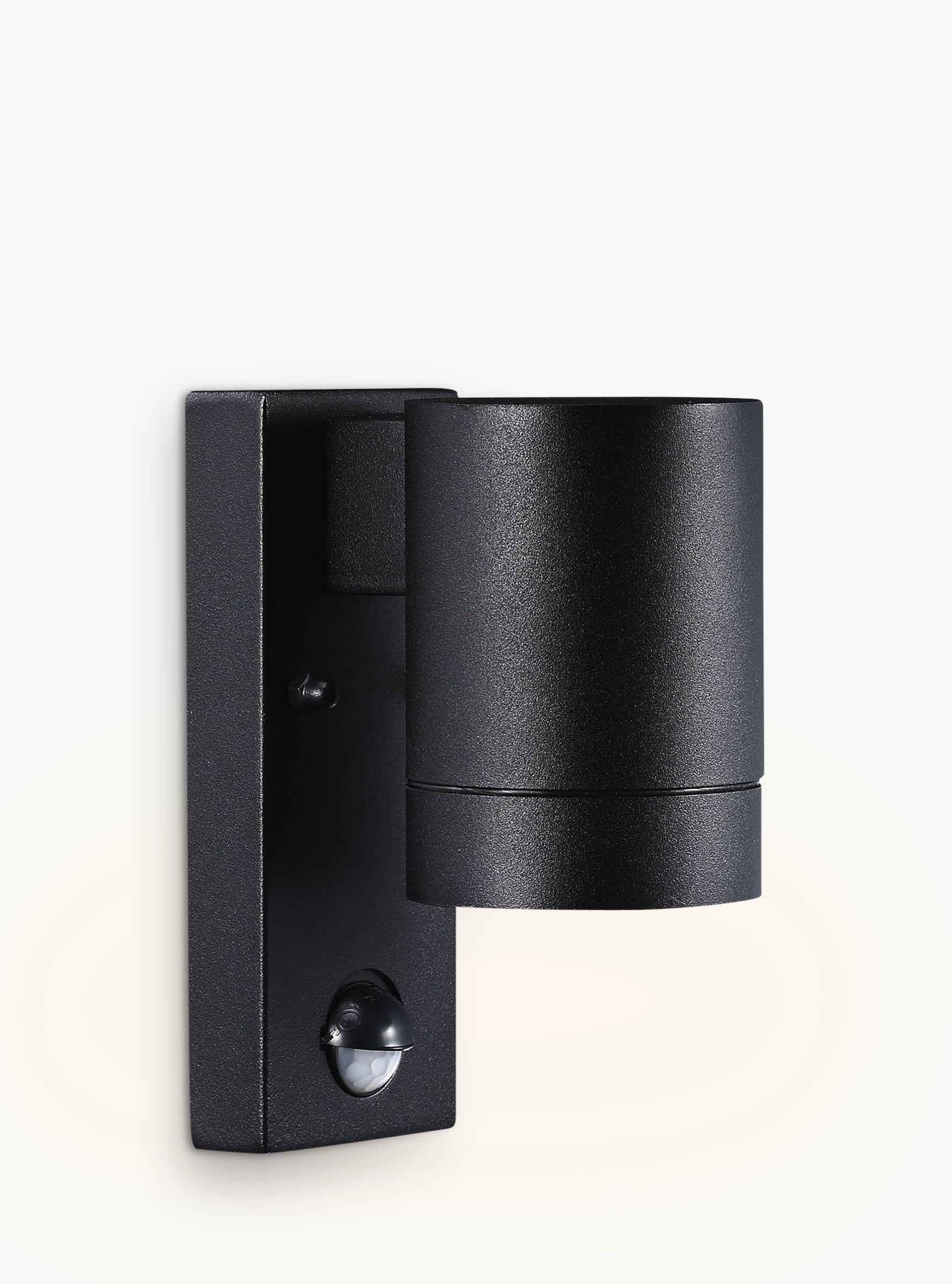 Nordlux Tin Maxi Pir Outdoor Sensor Wall Light Black At John Lewis Partners