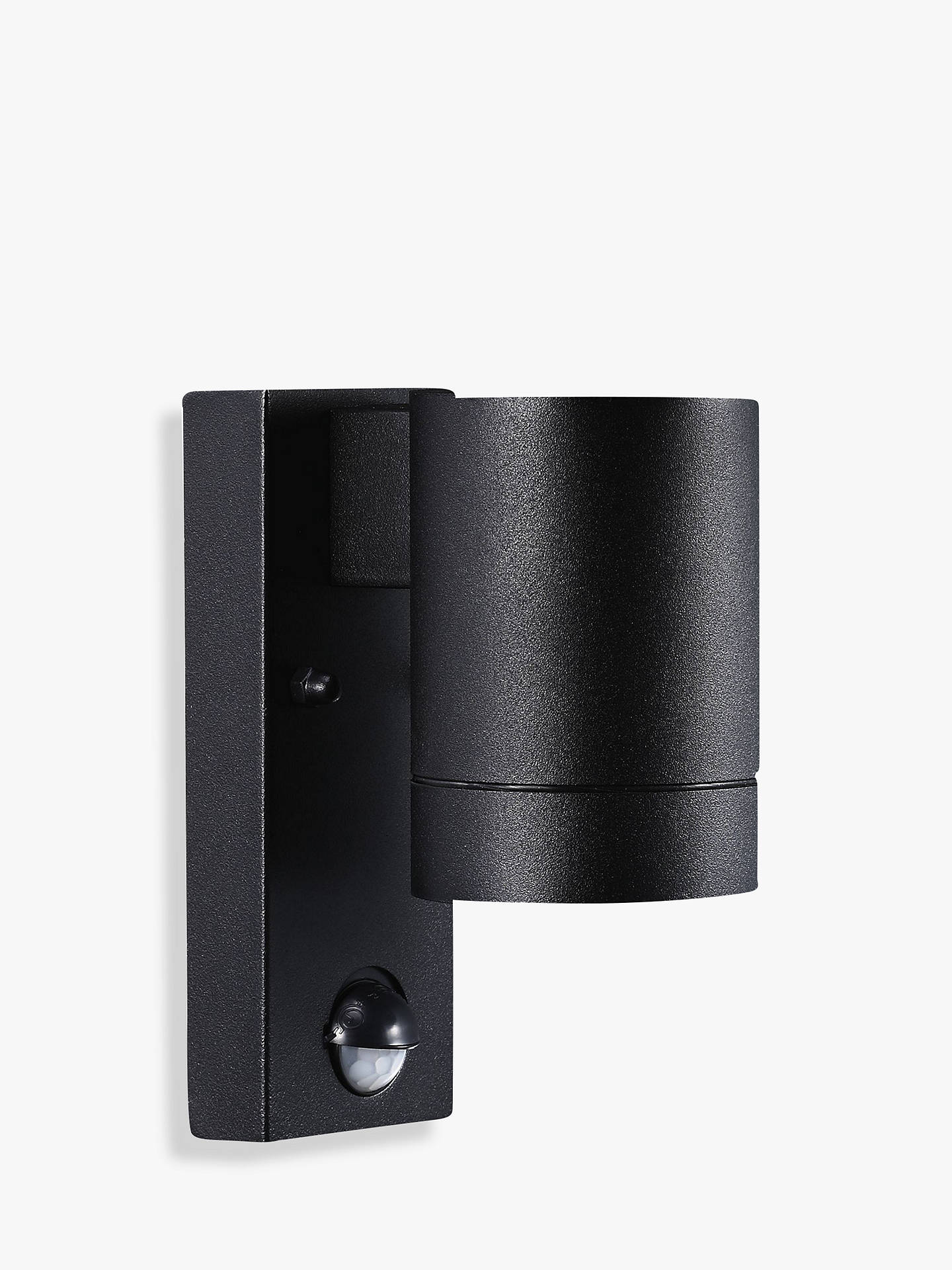 BuyNordlux Tin Maxi PIR Outdoor Sensor Wall Light, Black Online at johnlewis.com