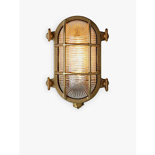 Brass garden outdoor lighting john lewis nordlux bulkhead outdoor wall light mozeypictures Image collections