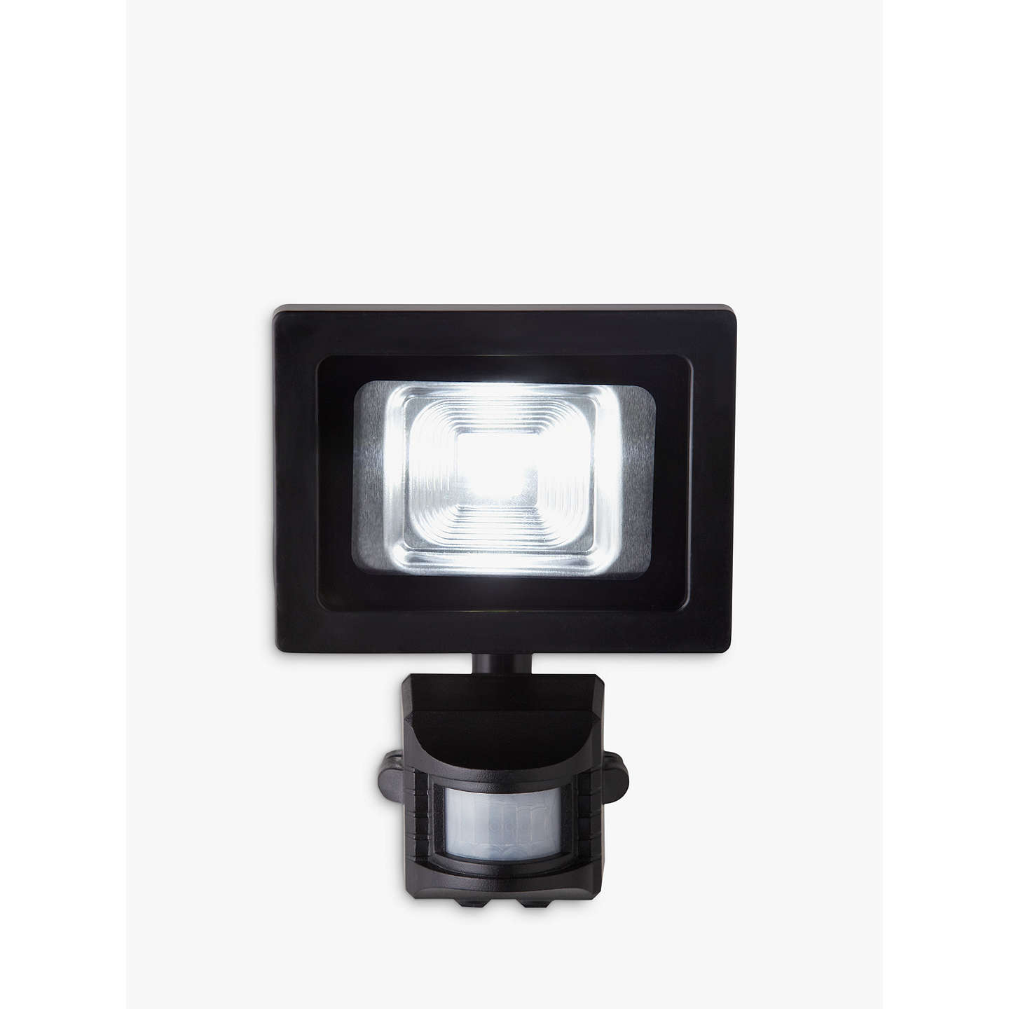 John lewis seleno pir sensor security led outdoor light black at buyjohn lewis seleno pir sensor security led outdoor light black online at johnlewis mozeypictures Image collections