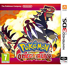 Buy Pokémon Omega Ruby, Nintendo 3DS Online at johnlewis.com