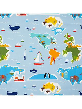 little home at John Lewis Globe Trotter Curtain