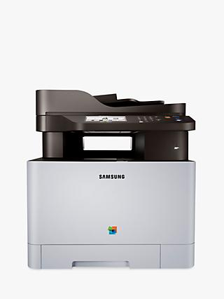 Samsung Xpress SL-C1860FW Wireless All-in-One Multifunction Colour Laser Printer & Fax Machine with NFC