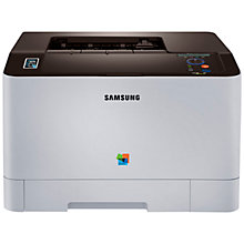 Buy Samsung Xpress SL-C1810W Wireless Colour Laser Printer with NFC Online at johnlewis.com