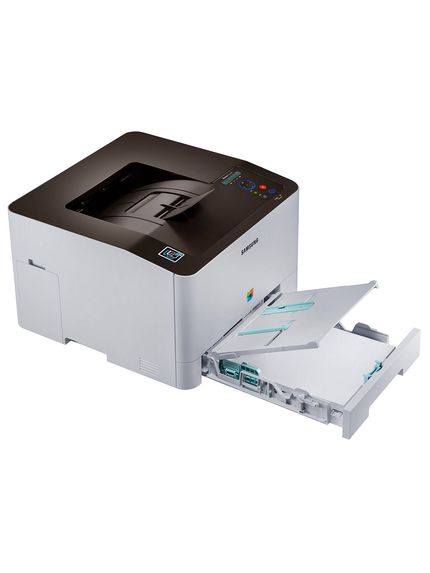 BuySamsung Xpress SL-C1810W Wireless Colour Laser Printer with NFC Online at johnlewis.com