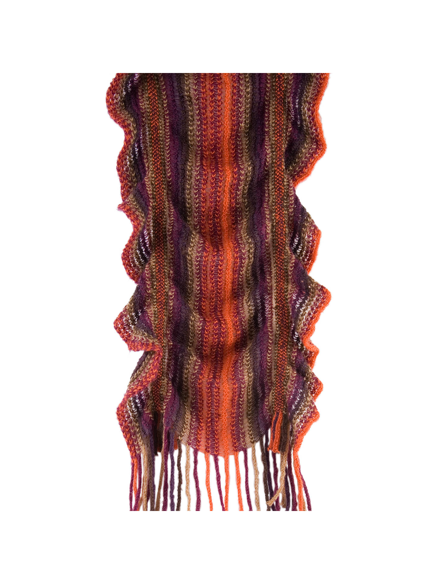 Buy Chesca Knitted Bounce Scarf, Multi Online at johnlewis.com