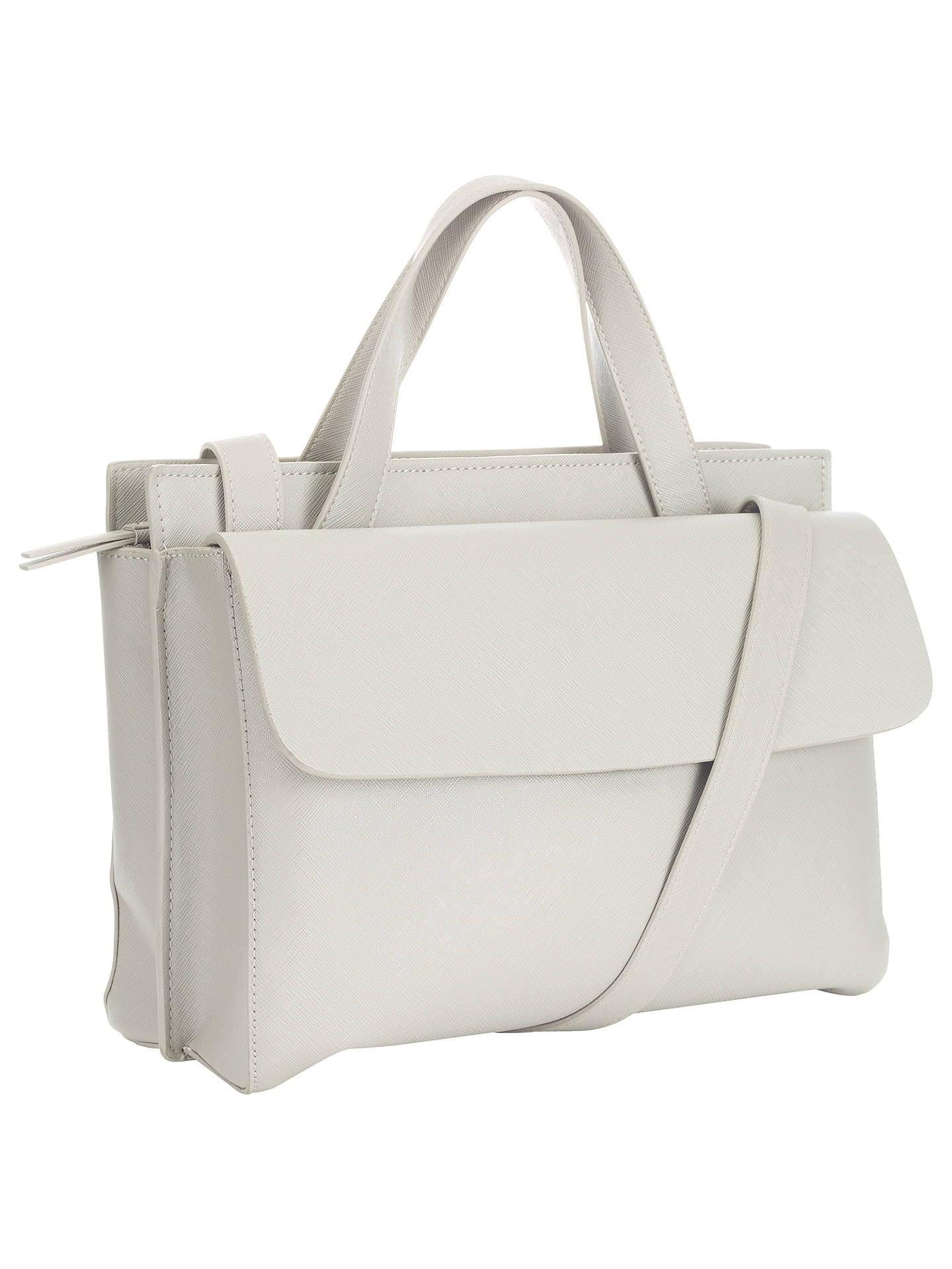 Collection By John Lewis Liliana Satchel Bag Grey Online At Johnlewis