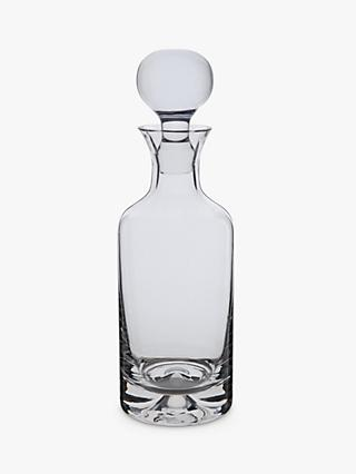 Dartington Crystal Dimple Decanter, 750ml, Clear