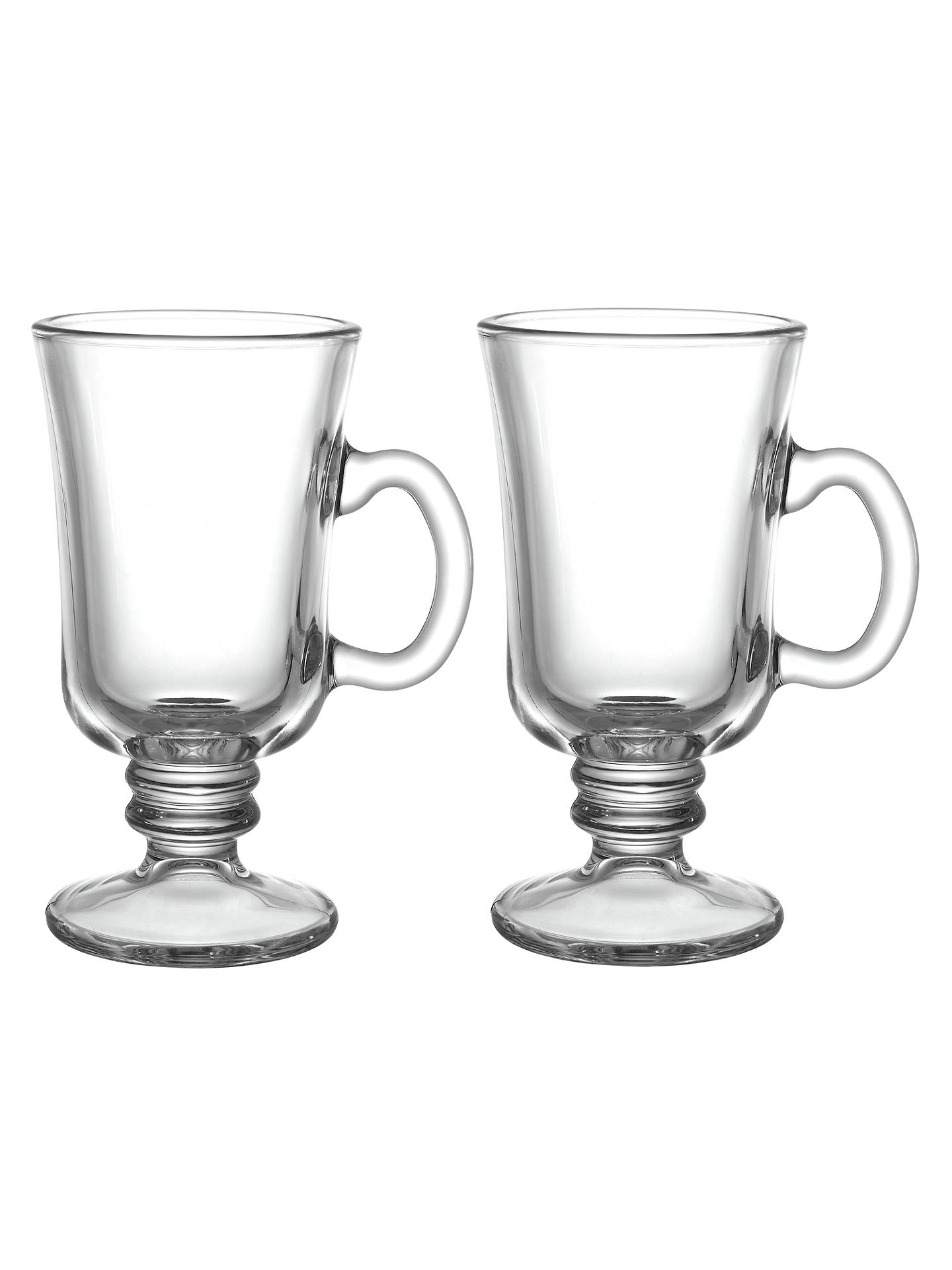 John Lewis Café Irish Coffee Cups Set Of 2 At John Lewis