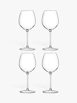 LSA International Bar Collection Red Wine Glasses, Set of 4, 400ml, Clear