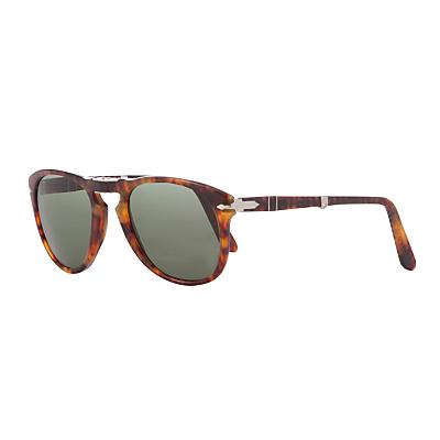 Persol PO0714 Polarised Aviator Sunglasses Tortoise
