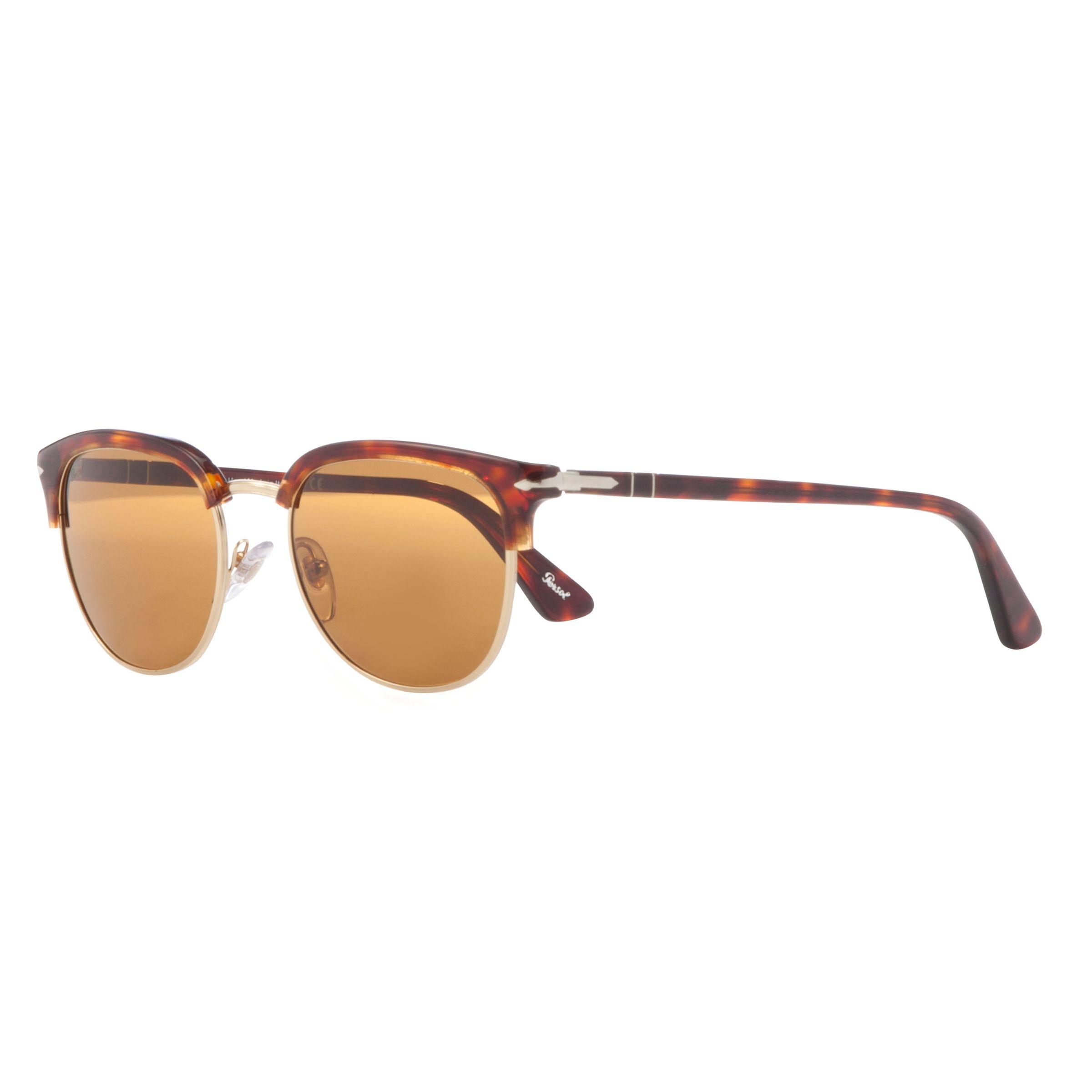 Persol Persol PO3105S D-Frame Sunglasses, Havana